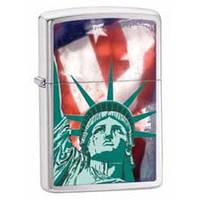Зажигалка Zippo 28282 Statue Of Liberty серая 28282