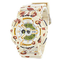 Бюджетные часы Casio Baby G  BA-110 Cofee-Fl