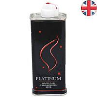 Бензин для заправки зажигалки. Англия Platinum 125 ml ZA777