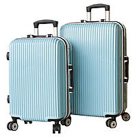 Глянцевый надёжный пластиковый чемодан SP510224