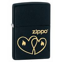 Зажигалка бензиновая Zippo 28552 ZIPPO HEARTS сердечко.