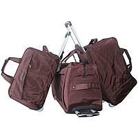 Недорогая сумка дорожная на колёсах 3-ка