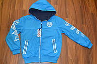 Куртка ветровка двухсторонняя для мальчиков.Размеры 134-164 см.Фирма S&D,Венгрия