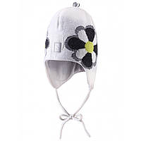 Детская  зимняя шапка для девочки Reima 518237-0100.  Размер 46, 48, 50.