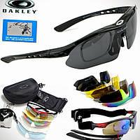Тактические очки «Oakley Polarized» с 5-ти линзами