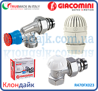 Giacomini Комплект для подключения радиаторов, угловой осевой 1/2
