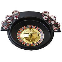 Настольная игра алко рулетка 6 рюмок. NN1710