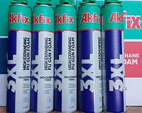 Пена монтажная AkFIX 850мл, под пистолет