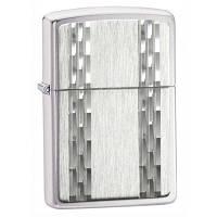 Зажигалка Zippo 24994 DIAMOND STRIPES серая 24994