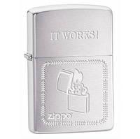 Зажигалка бензиновая Zippo 28574 ZIPPO IT WORKS.