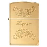 Зажигалка Zippo 323948 ZIPPO FLORAL желтая 323948