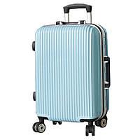 Оригинальный на колесиках пластиковый чемодан, мельнький. SM51022191