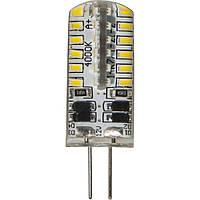 Светодиодная капсульная лампа Feron 4810 LB-422 AC/DC12V 3W 48leds G4 2700K 240lm