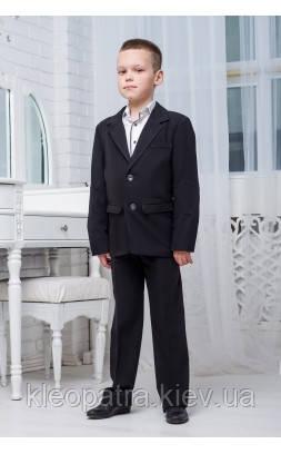 Школьный пиджак для мальчика классический