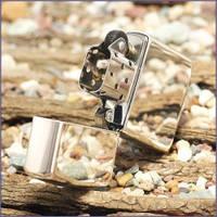 Зажигалка бензиновая Zippo 260 HIGH POLISH CHROME (Хромированная глянцевая)., фото 1