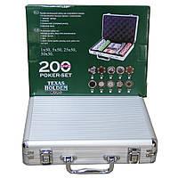 Набор подарочный покерный кейс на 200 фишек PN62022