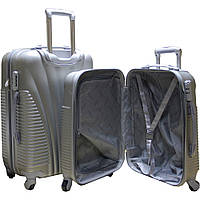 Дорожный чемодан пластиковый двойка ручная кладь. SP510412, фото 1