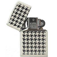Зажигалка Zippo 24888 HOUNDSTOOTH белая 24888, фото 1