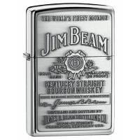 Зажигалка Zippo 250JB 928  JIM BEAM серая 250928