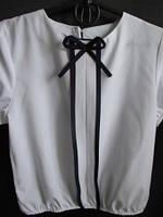 Блуза для девочки с рукавами-фонариками