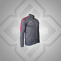 Олимпийка BestTeam JK-15019 (серая с красным)