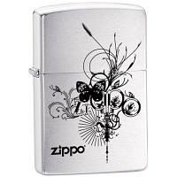 Бензиновая зажигалка Zippo 24800 Butterfly (Бабочка).