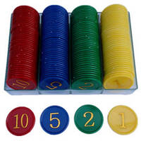 Фишки в игру покер с номеналом PN62030