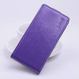 Чехол книжка для Lenovo Vibe P1 вертикальный флип Фиолетовый