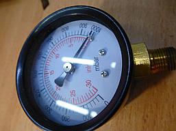 Манометр VALUE 310500104 мановакууомметр диаметр 50 мм . Черн . Подсоеденение с низу