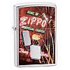 Зажигалка Zippo 24069 ZIPPO NEON серая 24069