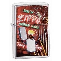 Бензиновая зажигалка Zippo 24069 ZIPPO NEON (Zippo неон).