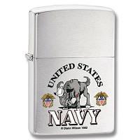 Зажигалка Zippo 24533 US Navy серая 24533