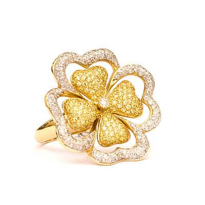 Золотое кольцо Амелия