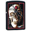 Зажигалка Zippo 28627 Mazzi Skull & Spider черная 28627