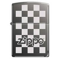 Зажигалка Zippo 324678 ZIPPO CHECKERBOARD BLACK ICE