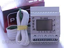 Терморегулятор недельный 2 прибора на DIN-рейку ТР-16Н2 Рубеж