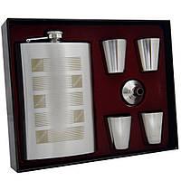 Подарочный набор. Фляга honest, 4 стаканчика и лейка. 260 мл. FP610063, фото 1