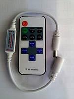 Диммер для светодиодной ленты 5-12V 6A(RF) RGB, фото 1