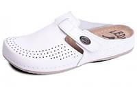 Обувь анатомическая (профессиональная)- сабо кожаные женские