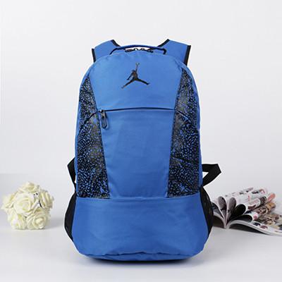 Спортивный рюкзак Jordan синий (реплика) - Интернет-магазин оригинальных кепок, рюкзаков и аксессуаров в Львове