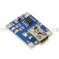 Модуль заряда Li-ion аккумуляторов на TP4056 miniUSB