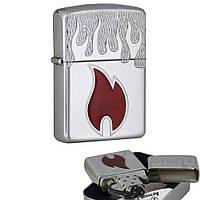Бензинова запальничка Zippo 20993 Zippo Inferno Armor (Армована)., фото 1