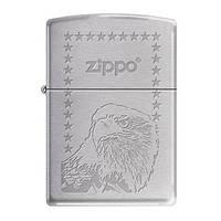 Зажигалка бензиновая Zippo 324552 ZIPPO EAGLE STARS.