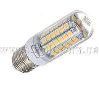 Лампа светодиодная 220V 15W E27 теплый белый, фото 1