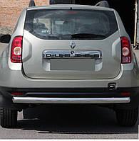 Защита заднего бампера на Dacia Duster (с 2010--)