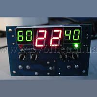 Терморегулятор-термостат программируемый W1401 питание 12В, фото 1