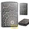 Зажигалка Zippo 28527 Black Ice Web All Ove
