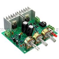 Конструктор стереоусилителя 2х15W на TDA2030A