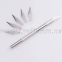 Модельный макетный нож с 5 запасными лезвиями, фото 1