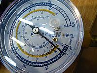 Манометр. VALUE CLнизкого давления . Синий . R 404,407,134,22 . Диаметр 80 мм